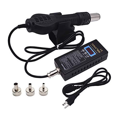 TXINLEI 8858 110V Hot Air Solder Blower SMT Rework Station Optional Portable Heat Gun 480W