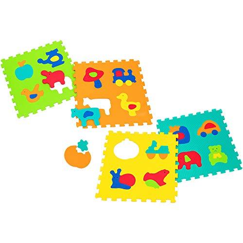 Globo Toys Globo – 5060 60 x 60 x 1,2 cm Vitamina _ G gemengde afbeeldingen speelset (4-delig)