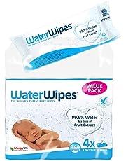 WaterWipes Original 4X60 Wipes (240Wipes)