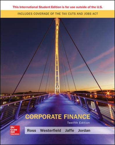 Compare Textbook Prices for Corporate Finance 12th edition Edition ISBN 9781260091878 by