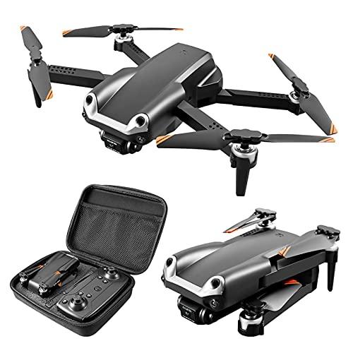 LYHY Mini Drone con Doppia Fotocamera 4K - Prevenzione Automatica degli Ostacoli - Drone Super Leggero 2.4G Pieghevole con Telecamera Elettrica Regolabile a 90° Quarcopter RC Facile da Usare