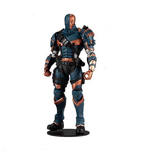 McFarlane Toys DC Multiverse Deathstroke: Batman: Arkham Origins Actionfigur, 17,8 cm, Mehrfarbig (15342-2)
