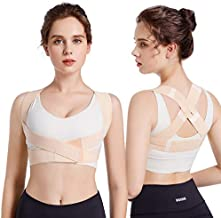 Posture Corrector for Women, CADIFET Adjustable Upper Back Brace for Chest Support and Straighten Posture Bra for Women - Providing Back Neck Shoulder Upright Straightener