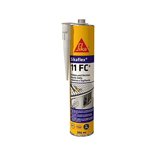 Sikaflex 11FC+, Sigillante elastico per giunti e adesivo universale, Grigia, 300ml