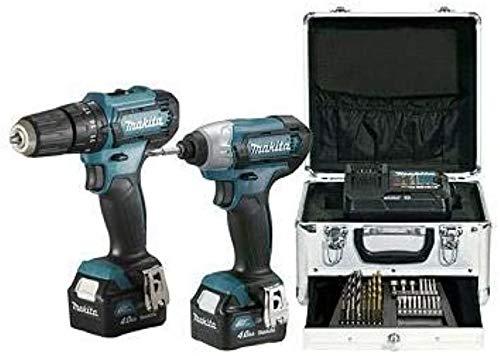 MAKITA CLX228SMX1 KIT COMBO HP333D+TD110D 12V MAX, Multicolor