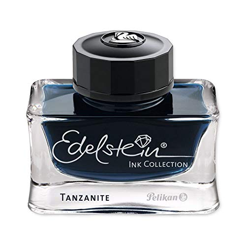 Pelikan Edelstein 339226 - Botella de Tinta 50 ml, tanzanite