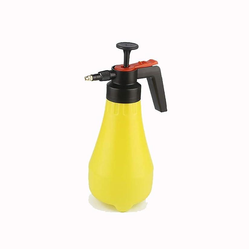 リーク虐殺脳じょうろ ケトル工場じょうろツールボトルスプレー1.8Lの保持圧力スプレーポータブルガーデン キッチンガーデン用 (色 : 黄, Size : 1.8L)