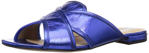 Marc Jacobs - Aurora, flacher Absatz, Sandalette Damen , Blau (blau), 37 EU