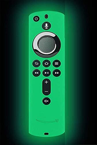 Ducomi Custodia Telecomando per Fire TV Stick 4K/Fire TV (3° Generazione) Guscio Protezione Compatibile con Remote Alexa di Seconda Generazione - Copri Telecomando Protettivo in Silicone (Neon Yellow)