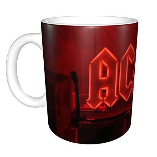 ACDC Kaffeetasse mit Aufschrift