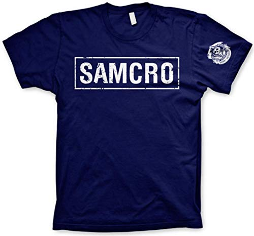 Sons of Anarchy Officially Licensed Merchandise Samcro Distressed T-Shirt (L)