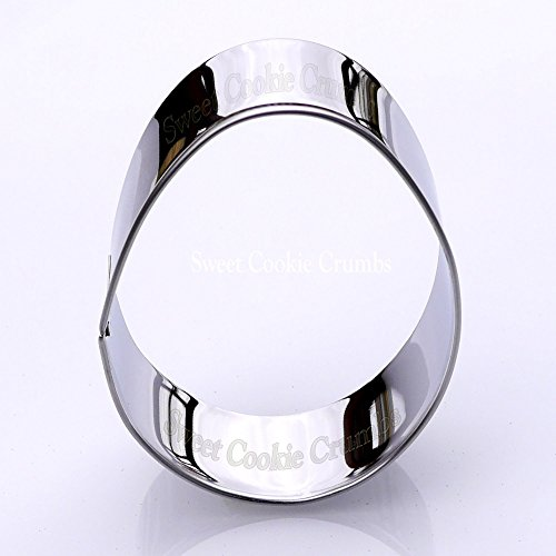 Egg Cookie Cutter- Stainless Steel