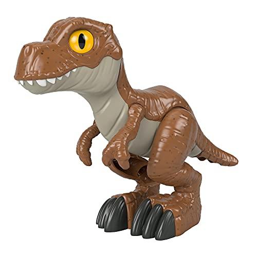 Fisher-Price Imaginext- Jurassic World Campo Avventura Dinosauro TRex XL, Giocattolo per Bambini 3-8 Anni, HCH93