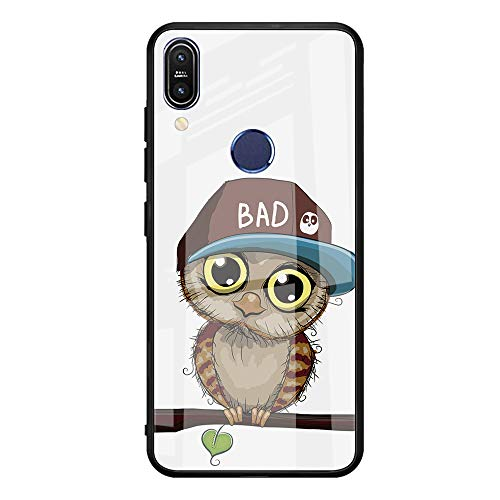 Oihxse Case Compatible for Xiaomi Mi 8 Slim Shockproof Hard Case for Xiaomi Mi 8 Case, Soft Black Silicone Bumper and Tempered Glass Screen Protector Shockproof Shockproof Fashion Design
