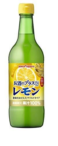 ポッカサッポロ お酒にプラス レモン 540ml