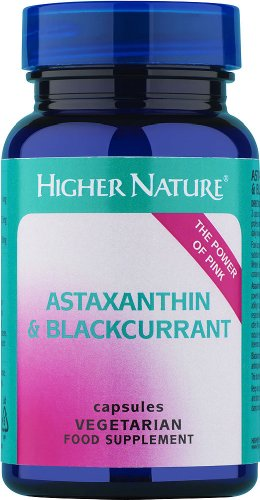 Higher Nature Astaxanthine and Blackcurrant Capsules Pack of 90