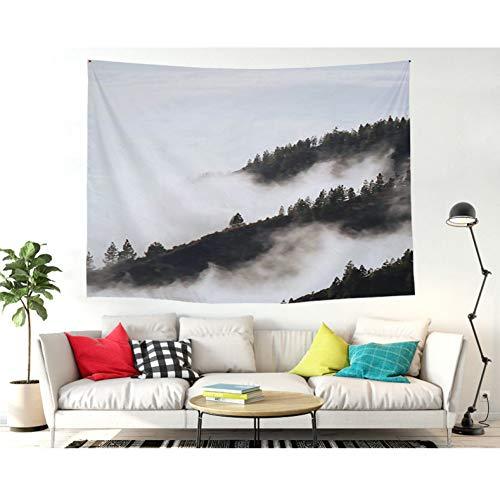 ZSYNB Wandtapijt, groene vetplanten, 3D-vloerkleed, vloerkleed, yogamat, decoratief tapijt voor thuis No frame 200 x 150 cm.