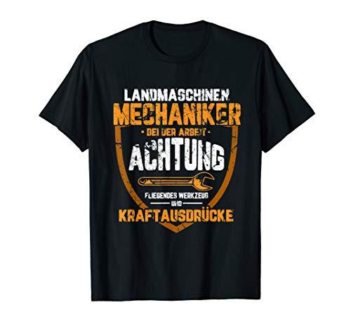 Landmaschinen Mechaniker | Landwirt Trecker Bauer Traktor T-Shirt