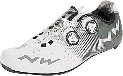 Northwave Revolution Rennrad Fahrrad Schuhe Weiß grau 2019