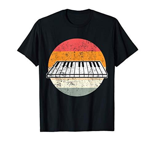 Klavier Flügel Piano Pianist Geschenk T-Shirt