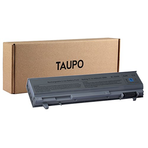 Taupo 6-Cell Laptop Battery Compatible with Dell Latitude 0RG049 PT434 KY265 0H1391 0P018K 4N369 W1193 NM631 KY266 KY477 PT436 FU274 312-0749 MP303 MP307 P018K PP27LA H1391-12Months Warranty