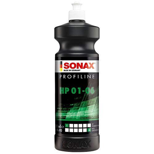 SONAX PROFILINE HP 01-06 (1 Liter) silikonhaltige Politur für leicht verkratzte und matte Bunt- sowie Metalliclacke | Art-Nr. 03003000