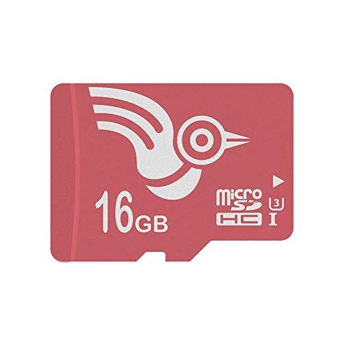 ADROITLARK Micro SD-Karte 16 GB microSD-Speicherkarte für Telefon/Dashcam/Smart Watch/Go Pro/Kamera (U3 16 GB)