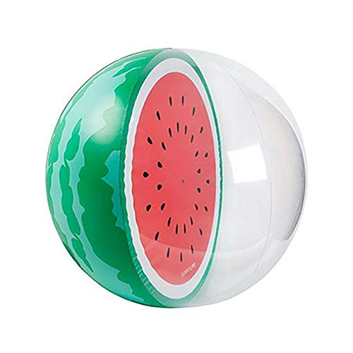 Weemoment Inflatable Fruit Beach Ball Watermelon Orange Water Sports Balloons Fountain Toy - Beach Leisure Float Ball Toy,Useful, Inflatable, Durable, Kids Gift for Best Friends