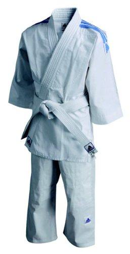 adidas Kimono Judo J180 Junior - 120 Cm, Blanco