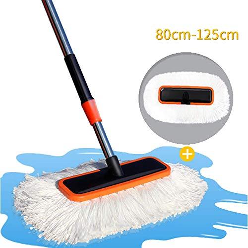 RUIX Autowaschbürste Langer Griff Einziehbare/Weiche Haarbürste/Reinigungsmopp/Reinigungswerkzeug,B