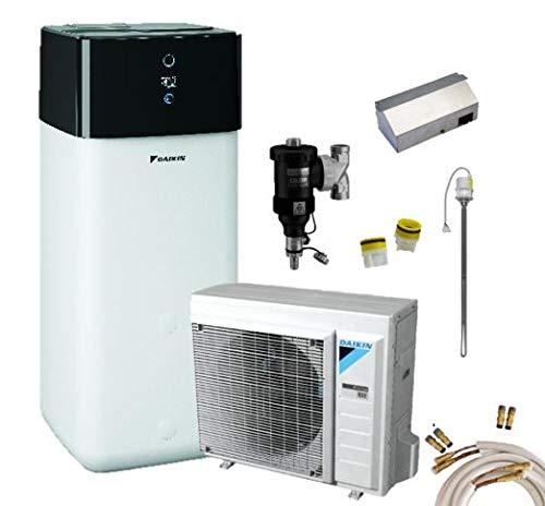 Daikin pompe di calore aria-acqua Set Altherma 3 R 4 kW + 500 Litro