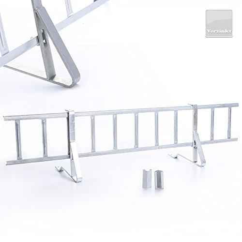 Komplettes Schneefanggitter für Dachziegel, Schneefangsystem, Verzinkt