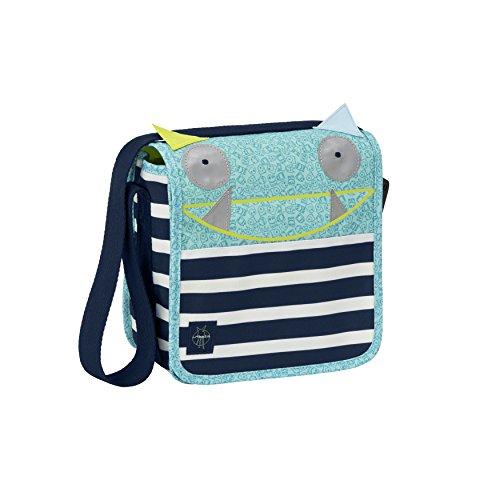 LÄSSIG Kindertasche Kindergartentasche Umhängetasche Junge Mädchen Kindergarten / Mini Messenger Bag Little Monsters, Bouncing Bob