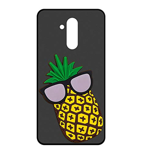 Sunrive Für HOMTOM S8 Hülle Silikon, Handyhülle matt Schutzhülle Etui 3D Hülle Backcover für HOMTOM S8(W2 Ananas) MEHRWEG+Gratis Universal Eingabestift