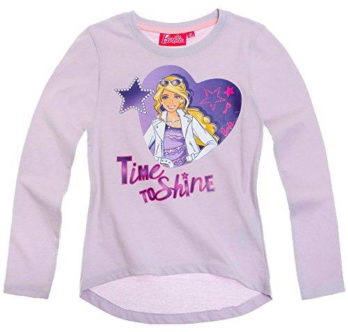 Barbie Camiseta de manga larga para niños