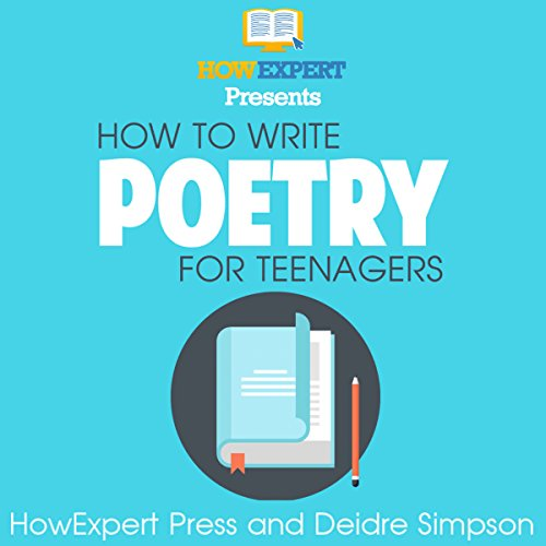 How to Write Poetry for Teenagers audiobook cover art