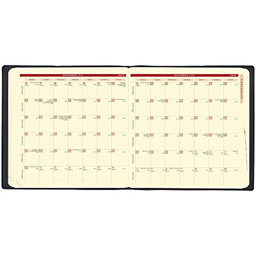 クオバディス2020年手帳4月始まりエグゼクティブノート4/クラブネイビーqv60202nvy