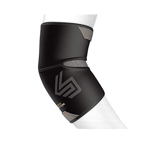 ShockDoctor Erwachsene Ellbogenschützer Ellbogen Kompressionsbandage Bandage, schwarz, M