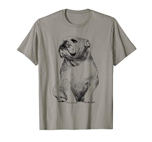 Hund Englische Bulldogge T-Shirt