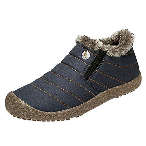 Herren Damen Winterschuhe Schnee Stiefel Plus Samt wasserdichte Baumwolle Schuhe Booties Kind Schneeschuhe,Stiefel Damen,Heißer