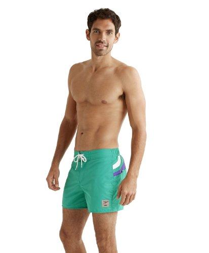 Speedo Retro Swimwear New Size XL Mens Swear Green