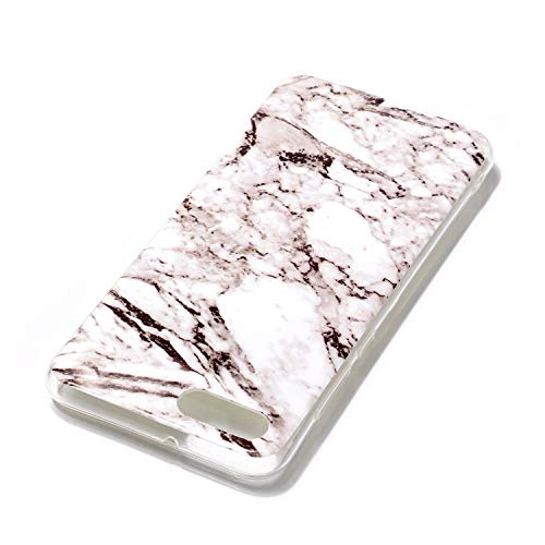 SEYCPHE Huawei Nova 2S Hülle Handyhülle TPU Silikon Weiche Schlank Schutzhülle Handytasche Gummi Dünn Flexibel Case Handy Hülle für Huawei Nova 2S - Marmor Weiß - 2