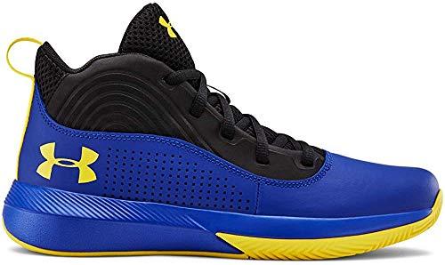 Under Armour UA GS Lockdown 4, Zapatos de Baloncesto Unisex Adulto, Azul (Royal 400), 40 EU