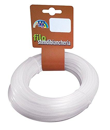 Maniver Novofil Filo in nylon da 4,0 mm x 20 mt