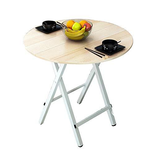 Opvouwbare tafel, een eenvoudige computer Bureau, Thuis Eettafel Ronde Tafel, Draagbare Tuintafel, Grootte 70x75cm