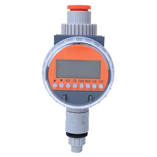 Fdit Minuterie d'arrosage électronique numérique G1-1/4 DN32, Outil d'arrosage Automatique pour l'irrigation des serres de Jardin Intelligent