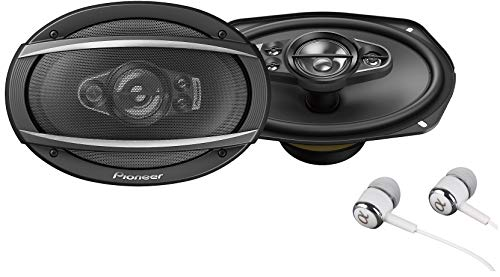 """Pioneer TS-A6990F A Series 6""""X9"""" 700 Watts Max 5-Way Car Speakers Pair with Carbon and Mica Reinforced Injection Molded Polypropylene (IMPP) Cone Construction"""