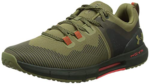 Under Armour UA HOVR Rise, Zapatillas Deportivas para Interior para Hombre, Verde (Outpost Green/Baroque Green/Outpost Green (301) 301), 50.5 EU