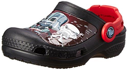 Crocs CC Star Wars Darth Vader Jungen Clogs, Schwarz (Black 001), 22/24 EU