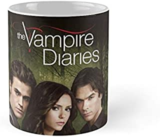 The Vampire Diaries Cover 11Oz Mug - Made From Ceramic - Great Gift For Family And Friends